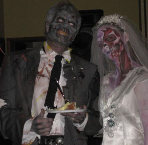 wedding zombies